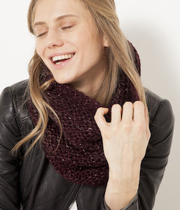 Col maille tricot femme