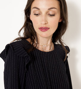 Lot 3 colliers chokers femme