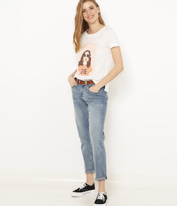 T-shirt Girl Power femme