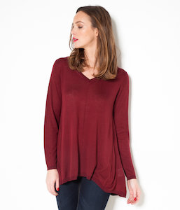 Pull femme loose