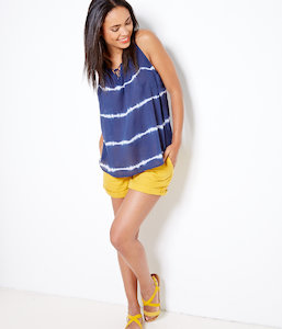 Top femme tie and dye